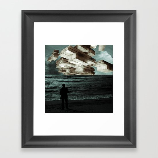 Autumn Tryst or, The Architect's Daydream Framed Art Print