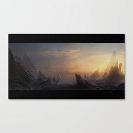 Sunset escape Canvas Print