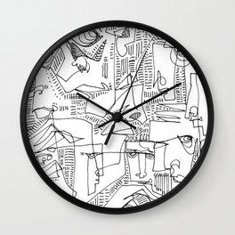 Hooligans Wall Clock
