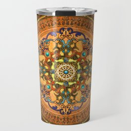 Mandala Arabia Travel Mug