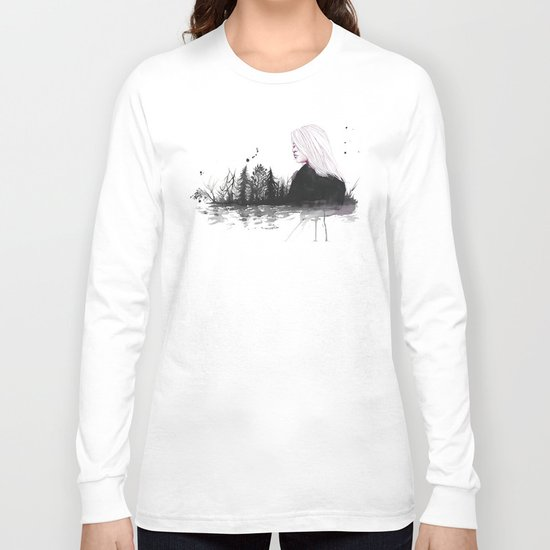 dried-out rivers Long Sleeve T-shirt