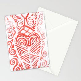 a neolithic goddess Stationery Cards