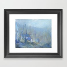 Shenandoah Blue Framed Art Print