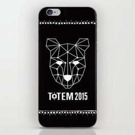 Totem Festival 2015 - White & Black iPhone Skin