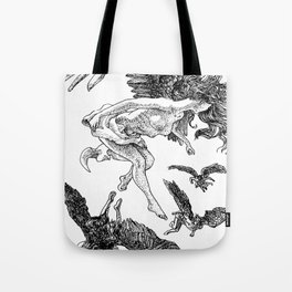 angels in the upfield Tote Bag