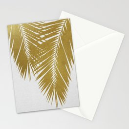 Palm Leaf Gold II Stationery Cards