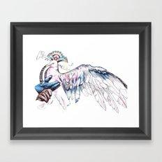 Like soaring through the heavens  Framed Art Print