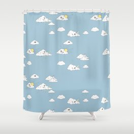 Dreaming about Super Raccoon Shower Curtain