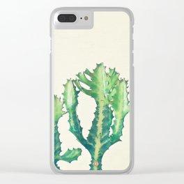 Dragon Bones Tree Clear iPhone Case