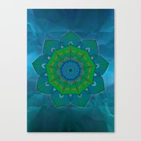 lotus Canvas Prints featuring Lotus by Angelo Cerantola