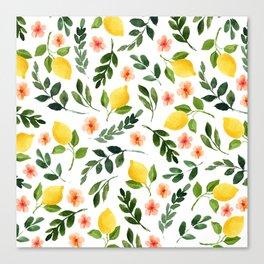 Lemon Grove Canvas Print