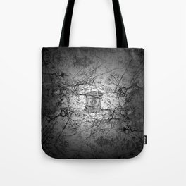 Who's to say edifice construction is instrinsical? Tote Bag