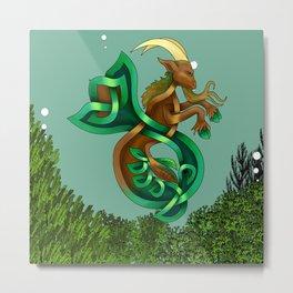 Ocean Goat Metal Print
