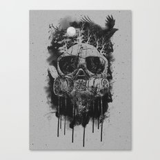 Suffocate Canvas Print