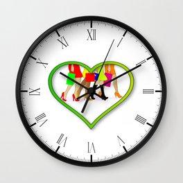Love Shopping Wall Clock