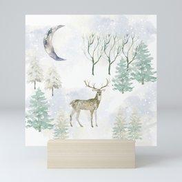 Winter Landscape Mini Art Print