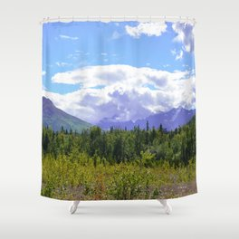 The Mountains Are Calling . . . II Shower Curtain