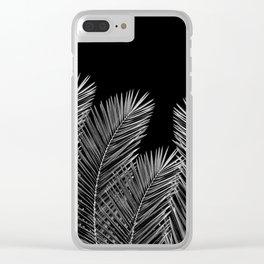Dark Palm Skies Clear iPhone Case