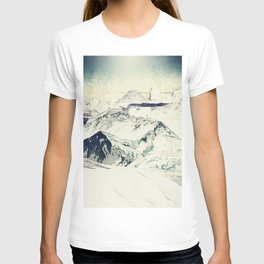Flight Over Yatsugate T-shirt