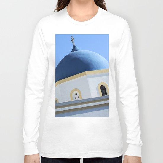 Church Dome Santorini Long Sleeve T-shirt
