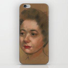 Unkown Woman iPhone Skin