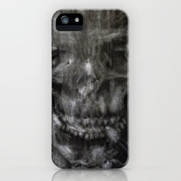 Death Smokes iPhone Case