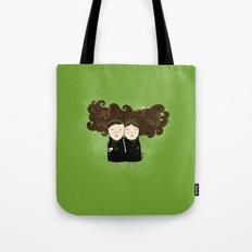Gemini Girl Tote Bag