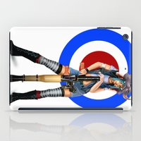 tank girl iPad Cases featuring Tank Girl by Valérie Loetscher (Vay)