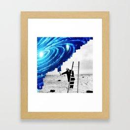Draw A Dream Framed Art Print