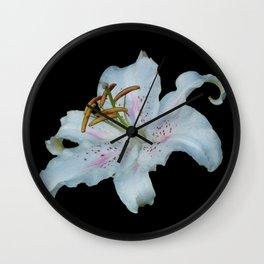 Stargazer Lily Wall Clock