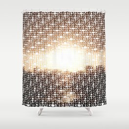 Type of Sunset Shower Curtain