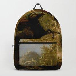 John Quidor Legend of Sleepy Hollow Headless Horseman Pursuing Ichabod Crane 1858 Backpack