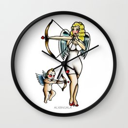Cupids Wall Clock