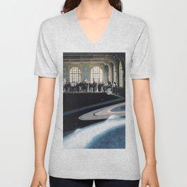 Space tourism Unisex V-Neck