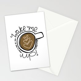 Wake Me Up! Stationery Cards
