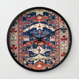 Bijov Kuba East Caucasus Rug Wall Clock