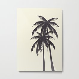 Palm Trees No.2 Metal Print