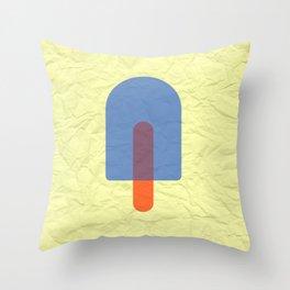 Bluesicle Throw Pillow