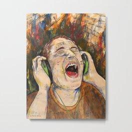 The Scream Metal Print