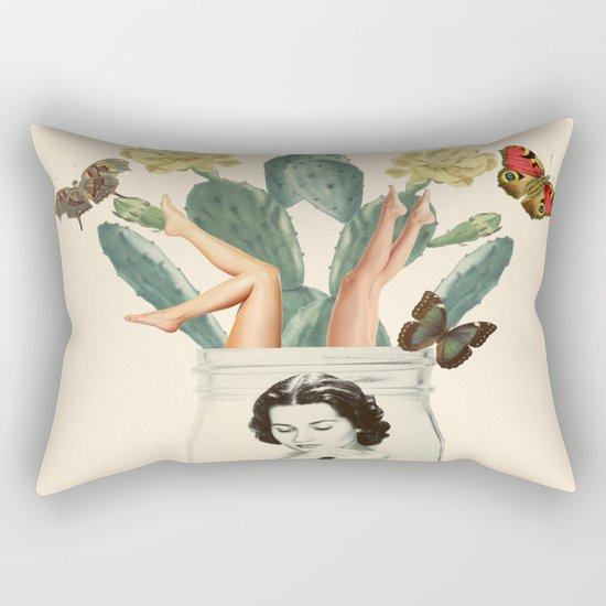 Jars of beauty Rectangular Pillow