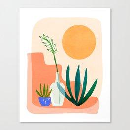 Santa Fe Summer / Abstract Landscape Canvas Print