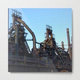 Bethlehem Steel Plant Photo 7 Metal Print