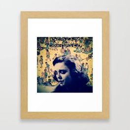 Blazed and Confused Framed Art Print