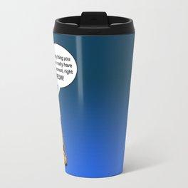 Buddah Cat Travel Mug
