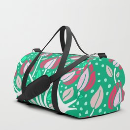 Love Grows Forever - Emerald Green Duffle Bag