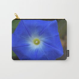 Blue, Heavenly Blue morning glory Carry-All Pouch