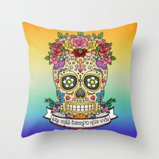 There Is More Time Than Life Throw Pillow