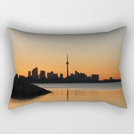 Toronto sunrise Rectangular Pillow