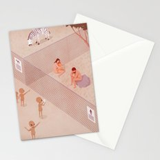 The zoo Stationery Cards