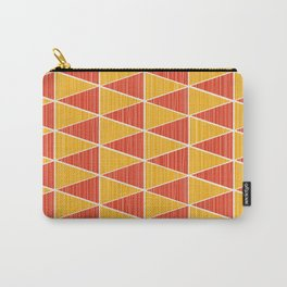 Pointy – red and yellow Carry-All Pouch